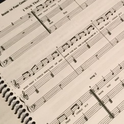 Sheet Music included. All original songs